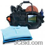 JCBid.com online auction Leather-tote-bag