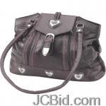 JCBid.com online auction Large-brown-leather-purse
