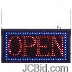 JCBid.com OPEN-PROGRAMMED-LED-SIGN
