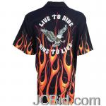 JCBid.com online auction 6-pc-blk-shirt-orange-fl-eagle