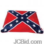JCBid.com online auction Confederate-flag-print-blanket