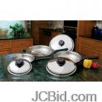 JCBid.com online auction 6pc-fry-pan-set