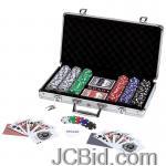 JCBid.com online auction 309pc-poker-set-w-alum-case