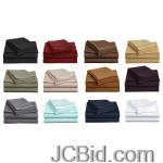 JCBid.com online auction 6pc-sheet-set-as-soft-as-egyptian-cotton-1800-thread-count