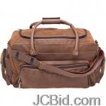 JCBid.com online auction Brown-tote-bag