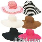 JCBid.com online auction Assort-ladies-floppy-sun-hats