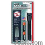 JCBid.com online auction Aa-mini-mag-black-flashlight-holster-pack-maglite-model-m2a01h