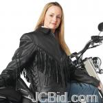 JCBid.com online auction Ladies-leather-moto-jacket-m