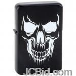 JCBid.com online auction Black-lighter-w-white-skull
