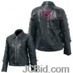 JCBid.com online auction Pebble-leather-lady-jacket-2x