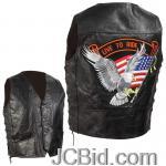 JCBid.com online auction Grain-leather-biker-vest-m
