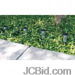 JCBid.com online auction 4-pc-solar-garden-light-set