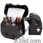 JCBid.com online auction Pvc-motorcycle-saddle-bag-set