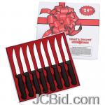 JCBid.com online auction 8pc-steak-knife-set