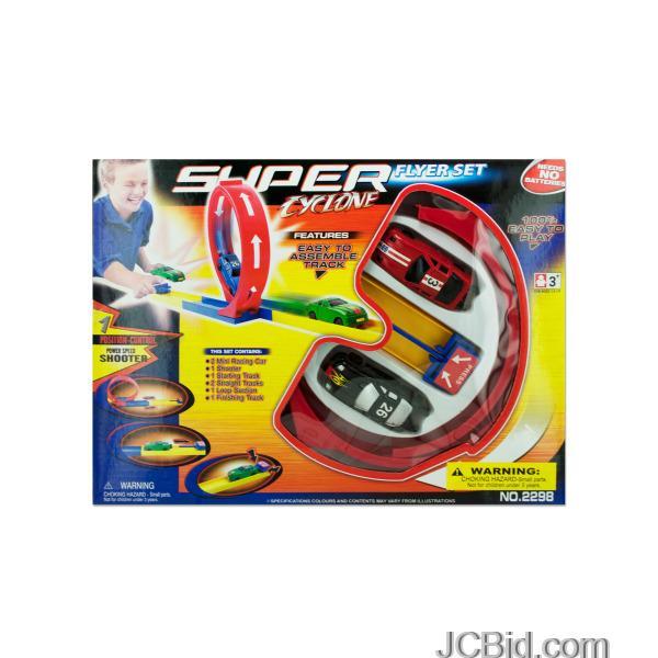 JCBid.com Super-Cyclone-Car-Flyer-Set-display-Case-of-24-pieces