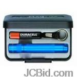 JCBid.com Solitaire-Flashlight-Blue-Presentation-Box-MagLite-Model-K3A112