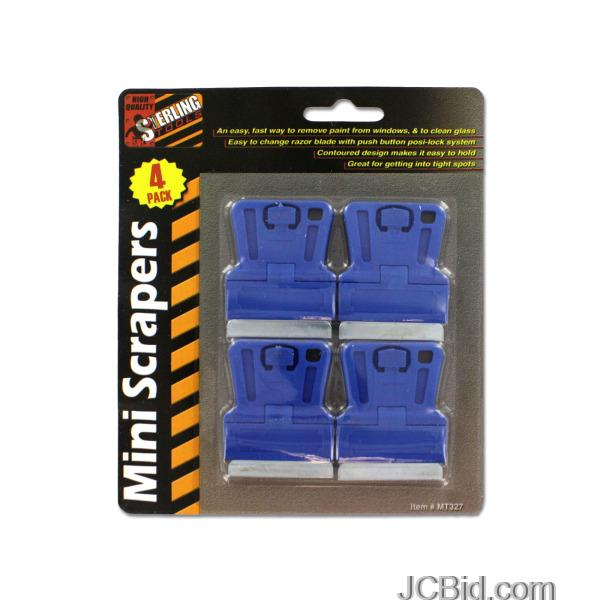 JCBid.com Mini-Scrapers-display-Case-of-60-pieces