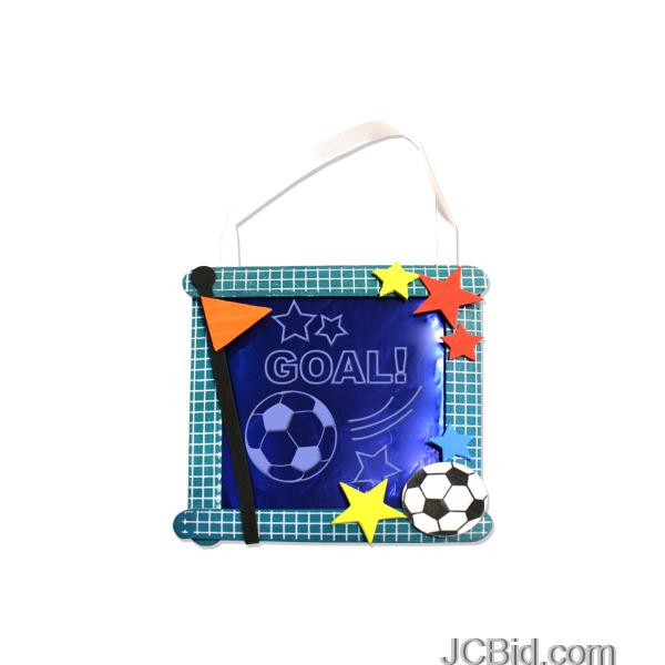 JCBid.com Soccer-Banner-Craft-Kit-display-Case-of-348-pieces