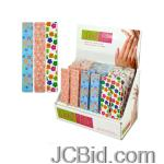 JCBid.com online auction Wide-nail-file-display-display-case-of-144-pieces