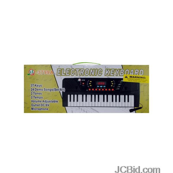 JCBid.com Electronic-Keyboard-with-Microphone-display-Case-of-12-pieces