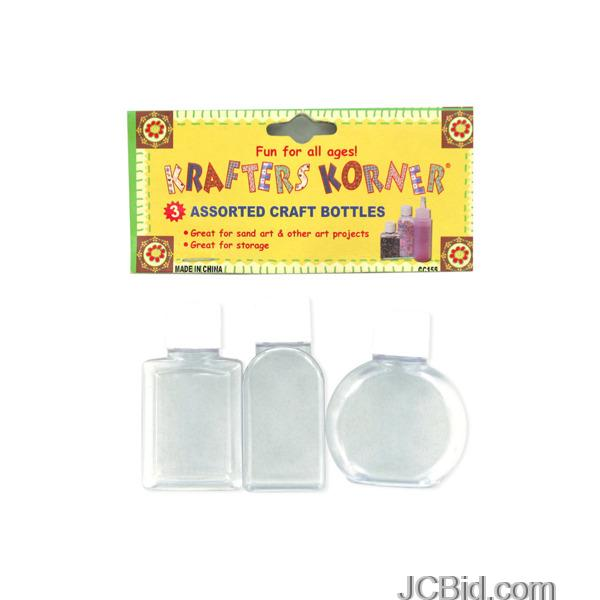 JCBid.com Small-Craft-Bottles-display-Case-of-96-pieces