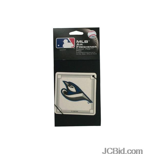 JCBid.com Blue-Jays-Baseball-Pine-Air-Freshener-display-Case-of-180-pieces