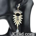 JCBid.com online auction Pretty-dangle-earrings-in-white