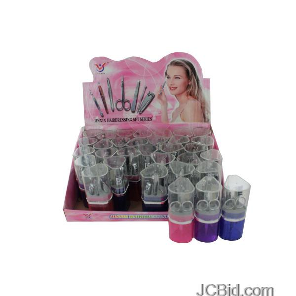 JCBid.com Travel-Manicure-Set-Counter-Top-Display-display-Case-of-48-pieces