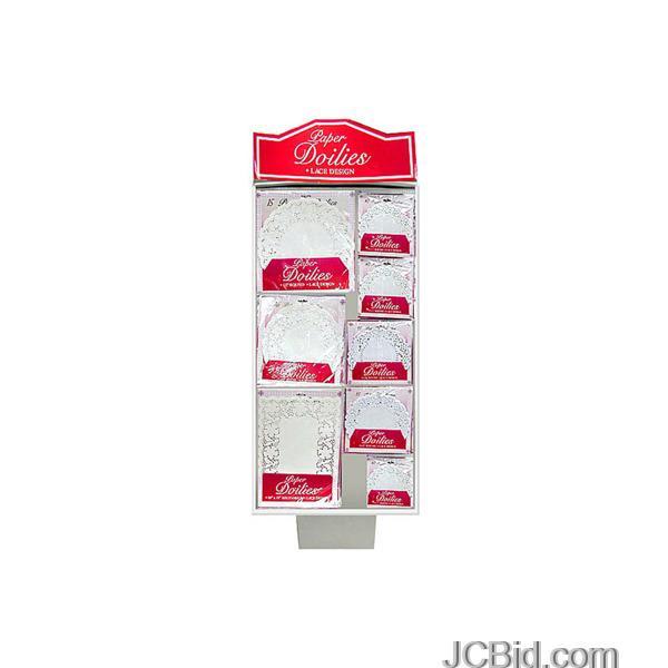JCBid.com Paper-Lace-Doilies-Display