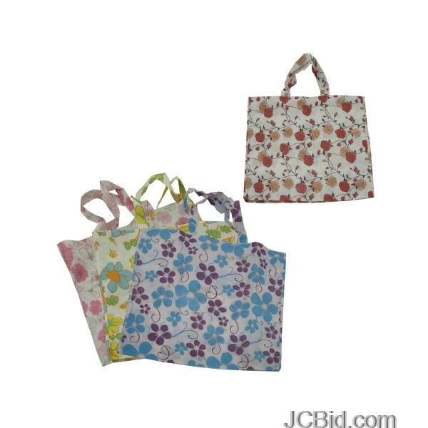 JCBid.com Large-Printed-Tote-Bag-display-Case-of-84-pieces