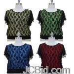JCBid.com online auction Choose-from-4-colors-lace-top-in-s-to-3x-sizes