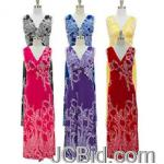 JCBid.com online auction Knot-front-maxi-dress-your-choice-of-color