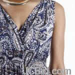 JCBid.com Paisley-Design-Maxi-dress-