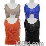 JCBid.com Beautiful-Top-with-Studded-neckline