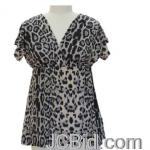 JCBid.com online auction Leopard-print-tunic-top-choose-from-3-colors