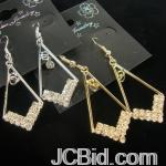 JCBid.com online auction Your-choice-of-gold-or-silver-dangle-earrings