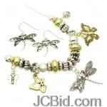 JCBid.com online auction Beautiful-dragonfly-necklace-with-silver-and-gold-tone