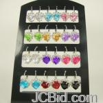 JCBid.com online auction Your-choice-euro-wire-earring-with-heart-shaped-crystal