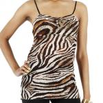 JCBid.com online auction Animal-print-tank-top