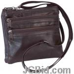 JCBid.com BROWN-GENUINE-LEATHER-PURSE