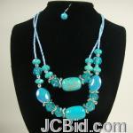 JCBid.com online auction 20quot-beaded-necklace-set-your-choice-of-color