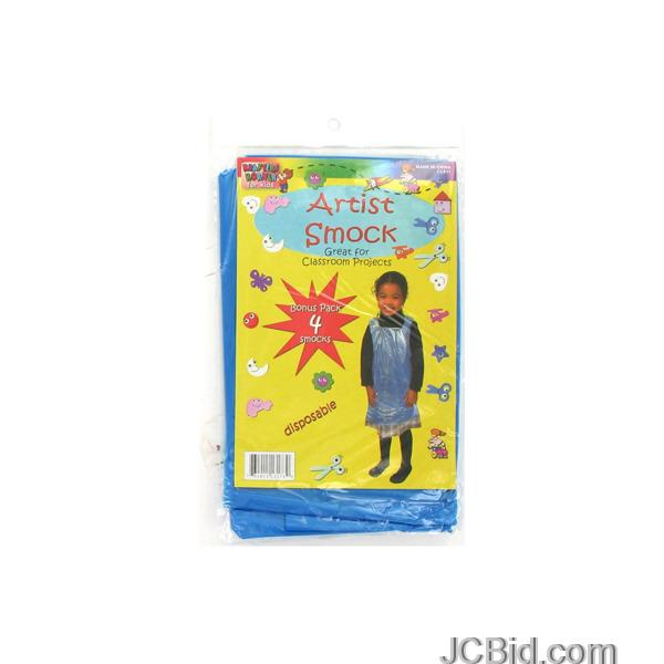JCBid.com Disposable-Children039s-Artist-Smock-Set-display-Case-of-96-pieces