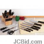JCBid.com 16-PC-CUTLERY-IN-BLOCK