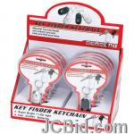 JCBid.com online auction 12pc-key-finder-w-led-light