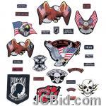 JCBid.com online auction 26-pc-motorcycle-patch-set