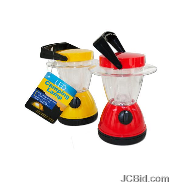 JCBid.com LED-Camping-Lamp-display-Case-of-24-pieces