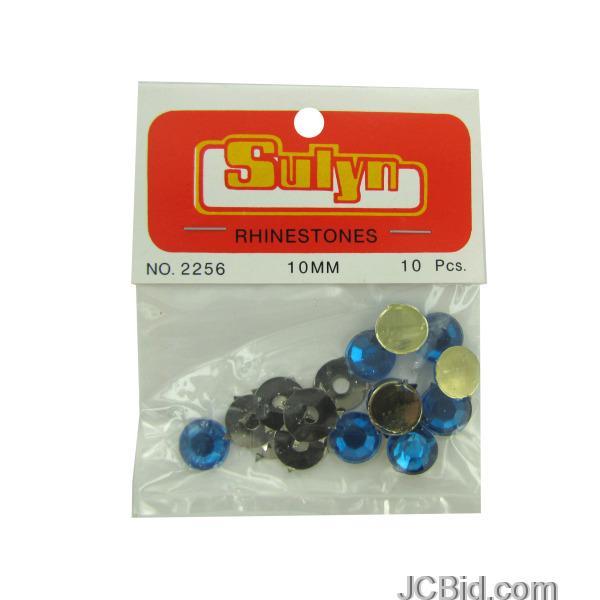 JCBid.com Blue-Rhinestones-display-Case-of-180-pieces
