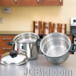 JCBid.com online auction 8qt-spaghetti-steamer-deep-fry