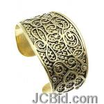 JCBid.com Scroll-design-Metal-bracelet