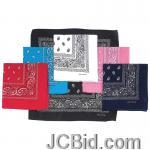 JCBid.com online auction Pasley-print-bandanas-6pc-set